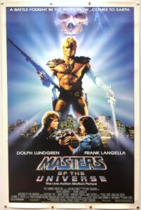 Masters of the Universe US One Sheet