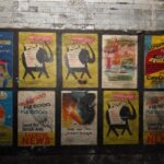 Vintage 1950s Posters Discovered in London Underground Station