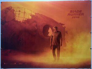 Blade Runner 2049 HARRISON FORD STYLE TEASER UK Quad