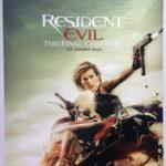 Resident Evil Final Chapter | 2017 | Advance | UK One Sheet