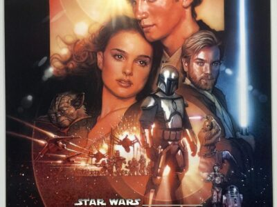 Attack of the Clones 2002 FINAL US One Sheet