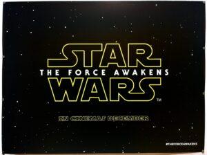 The Force Awakens 2015 TEASER UK Quad