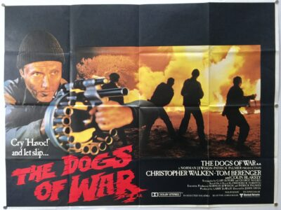 The Dogs of War STYLE B UK Quad