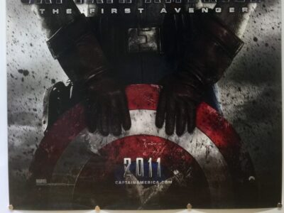 Captain America EVAN STYLE UK One Sheet