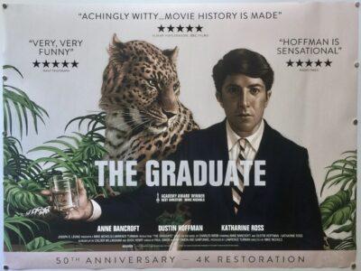 The Graduate 50TH ANNIVERSARY UK Quad