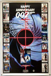 Happy Anniversary 007 US One Sheet