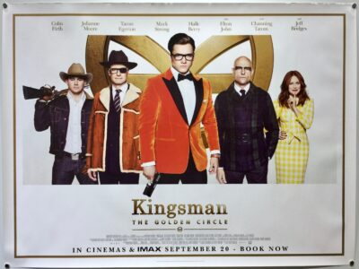 Kingsman Golden Circle Final UK Quad