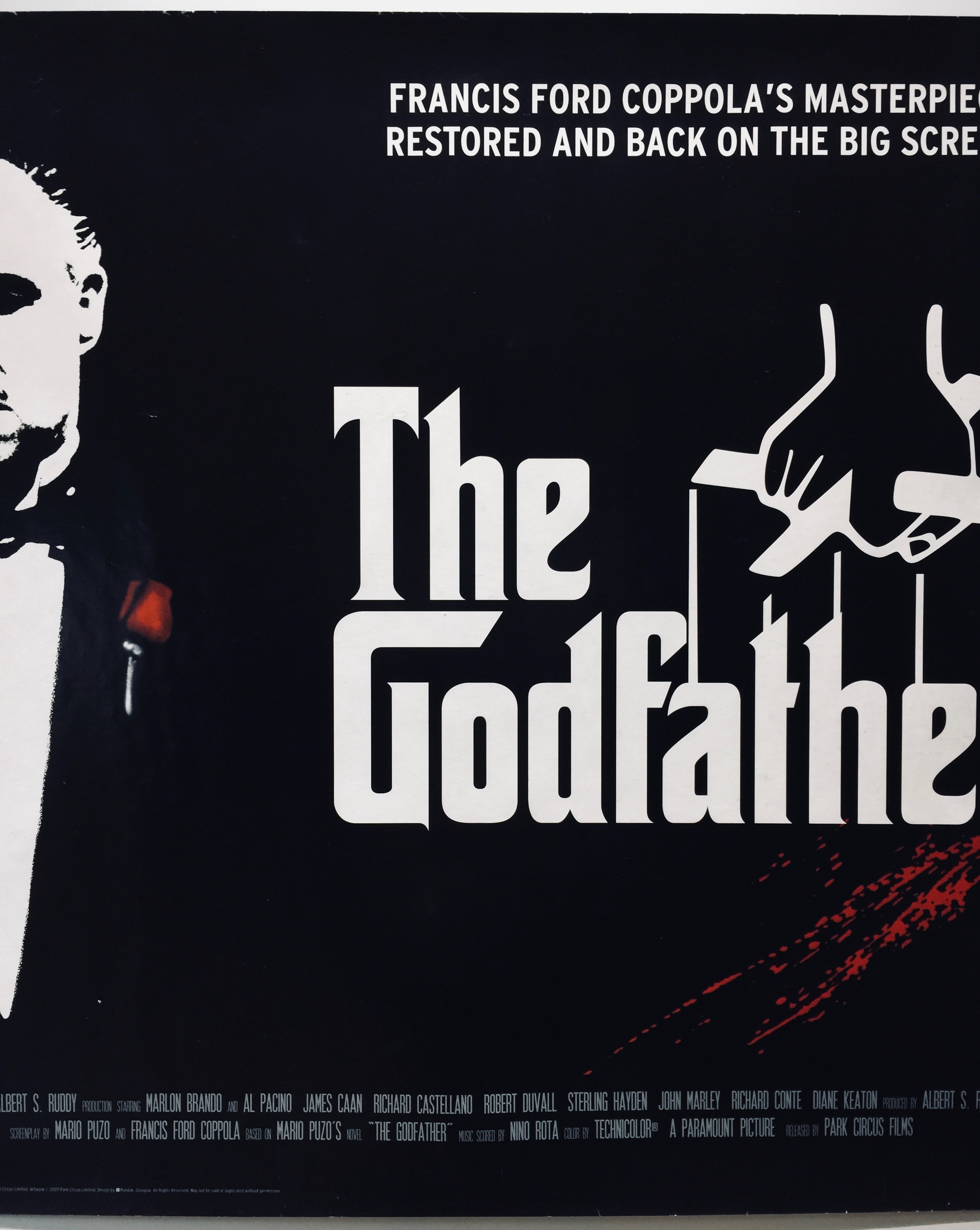 The Godfather | 1972 | Park Circus R2009 | UK Quad » The